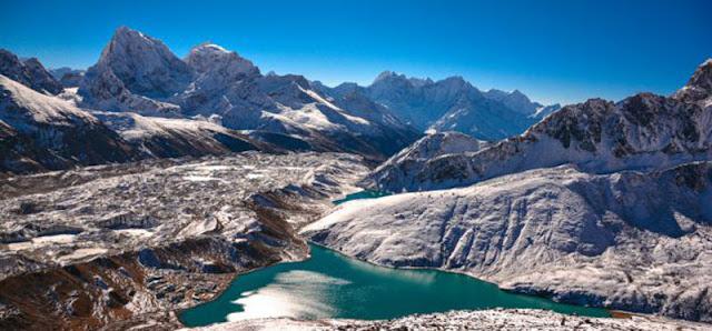 Navidad en el campo base del Everest