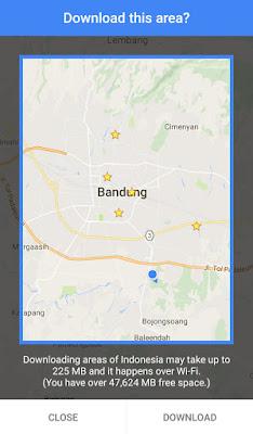 Cara Menggunakan Google Maps Offline Tanpa Internet