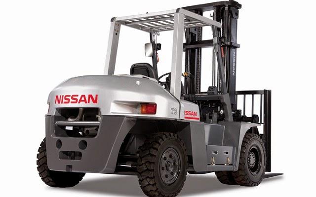 Xe nâng diesel Nissan