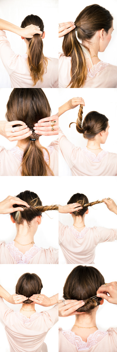 Gibson Roll hair tutorial