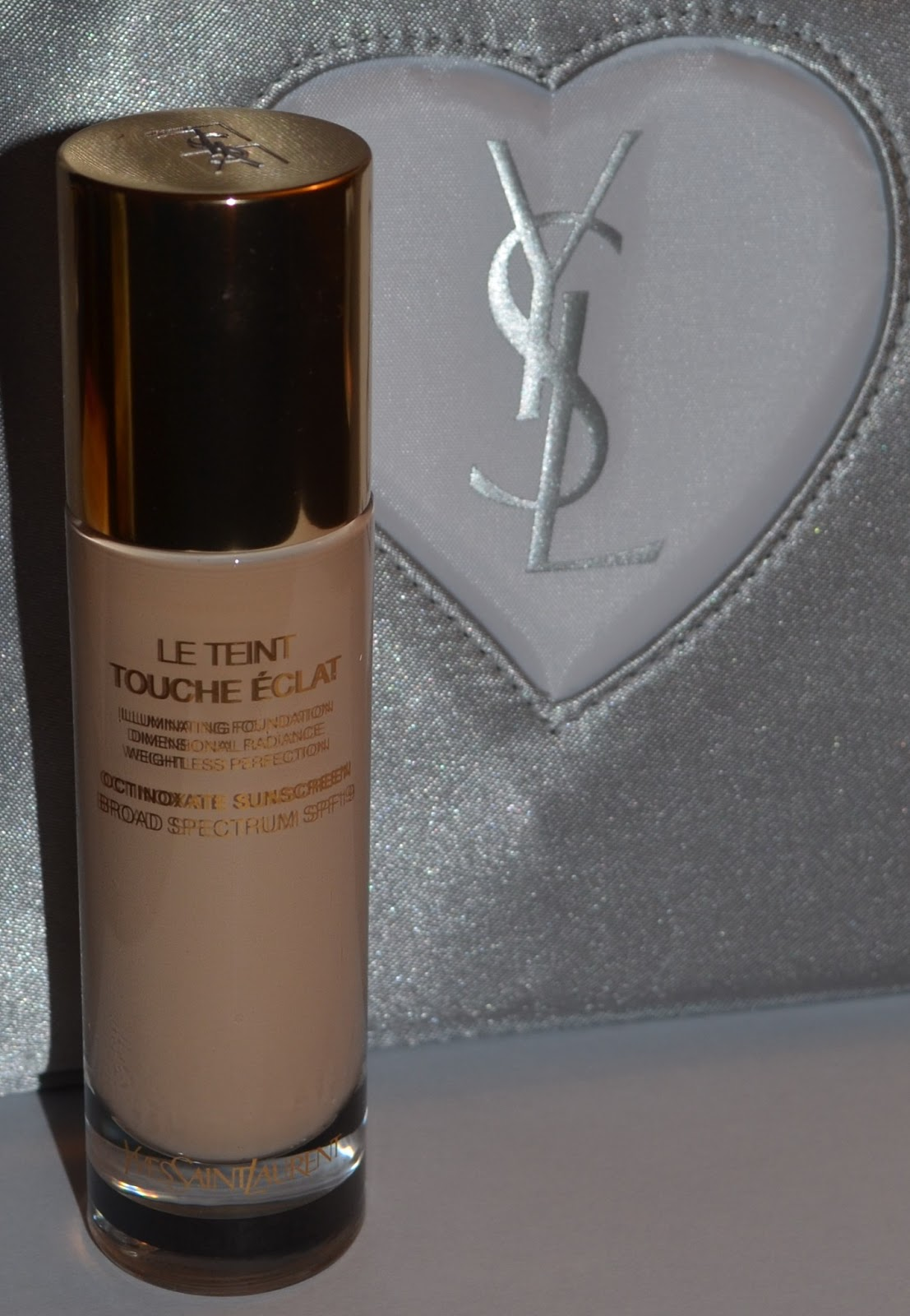 YSL Le Teint Touche Eclat Illuminating Foundation Review - My Beauty