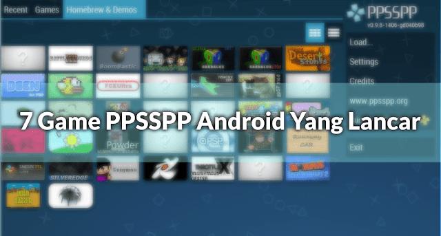 7 Game PPSSPP Android Yang Lancar Dan Ringan Untuk HP Kentang