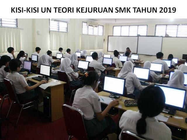 Download Kisi Kisi UN Teori Kejuruan SMK 2019