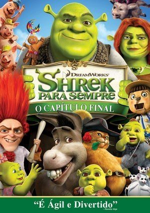 Shrek 4 - Shrek Para Sempre Filmes Torrent Download capa