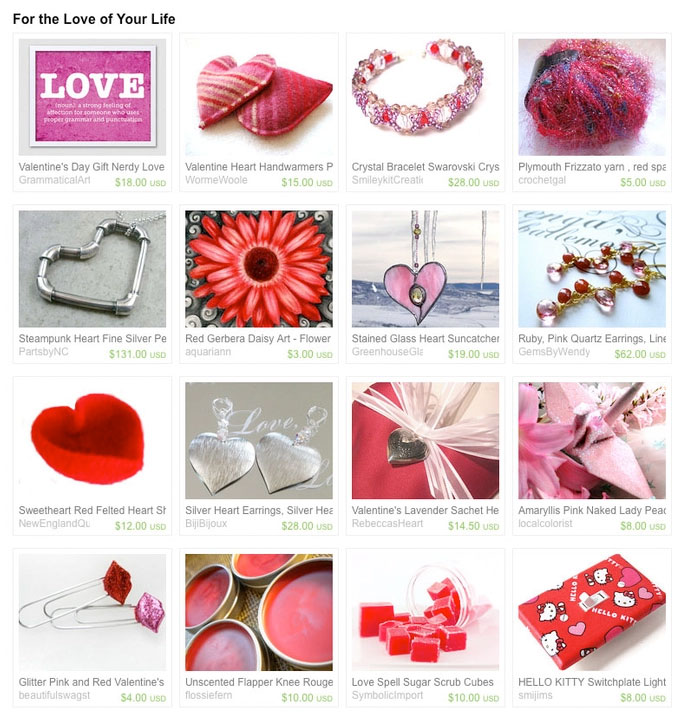 For the Love of Your Life Treasury