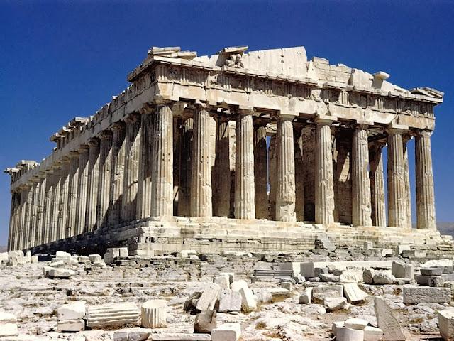 Parthenon em Atenas - Grécia