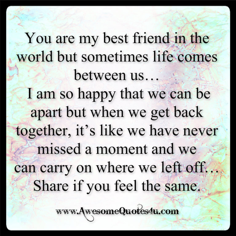 A Quote For My Best Friend Best Friend Quotes