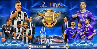 KUIS TEBAK SKOR MANDIRI188 Real Madrid vs Juventus TGL 03 JUNE 2017