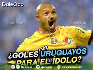 Al delantero Maximiliano Freitas de Oriente Petrolero de Bolivia ya le ponen la camiseta del Barcelona Sporting Club de Ecuador - DaleOoo