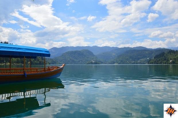 Lago di Bled, Pletna