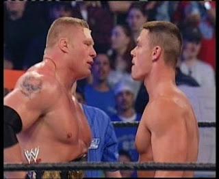 WWE+NARUTO: JOHN CENA VS. BROCK LESNAR PREDICTIONS