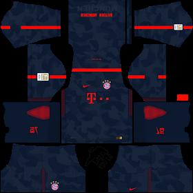 online retailer c2d24 68850 TheBackFours: Bayern Munich DLS FTS 2017 Nike kits