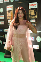 Nidhi Subbaiah Glamorous Pics in Transparent Peachy Gown at IIFA Utsavam Awards 2017  HD Exclusive Pics 64.JPG