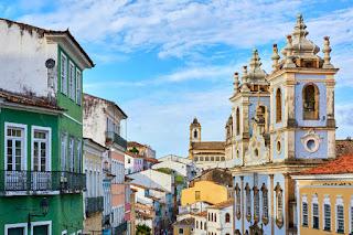 Cidade de Salvador na Época do Brasil Colônia