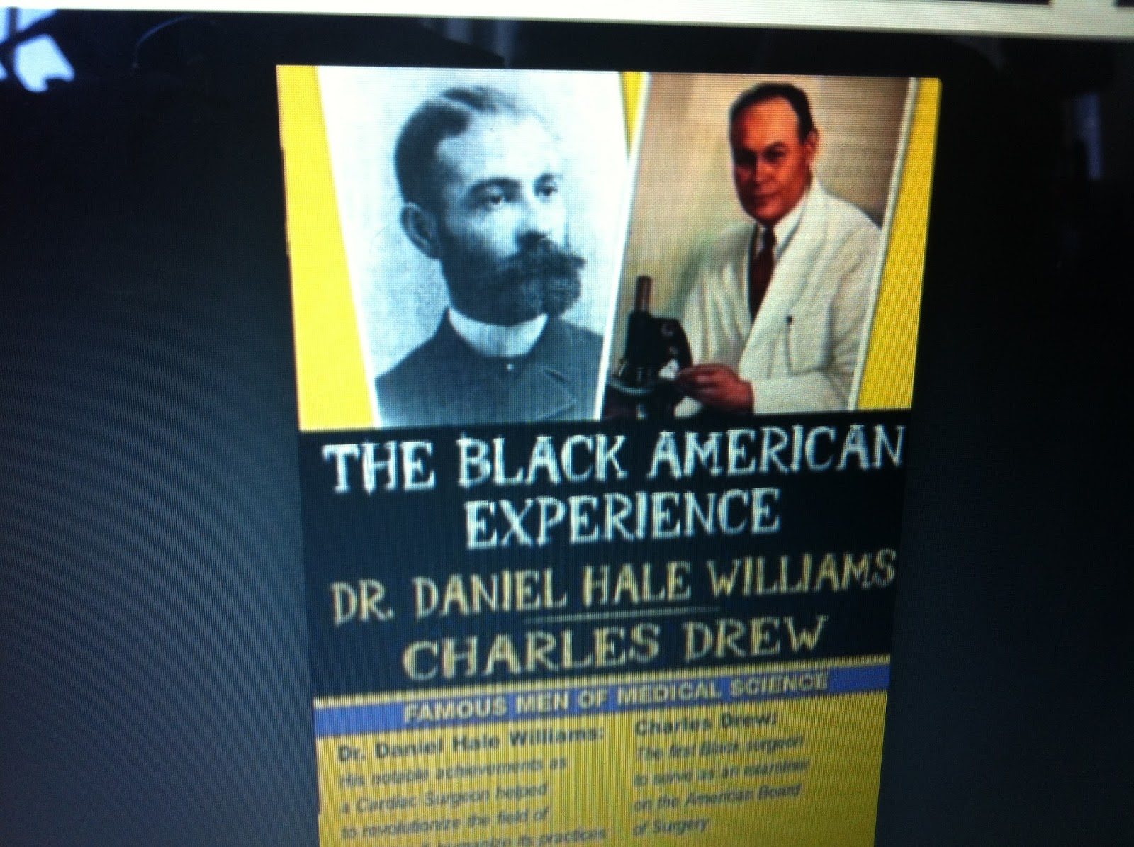 a biography of daniel hale williams an african american general surgeon At howard university and a chronicler of african american history cobb wrote two profiles of williams in the journal of the national medical association2,3 early life and education daniel hale williams was born on january 18, 1856, the fifth of six children of daniel williams, jr, and sarah price williams, in hollidaysburg, pa (figure 1.