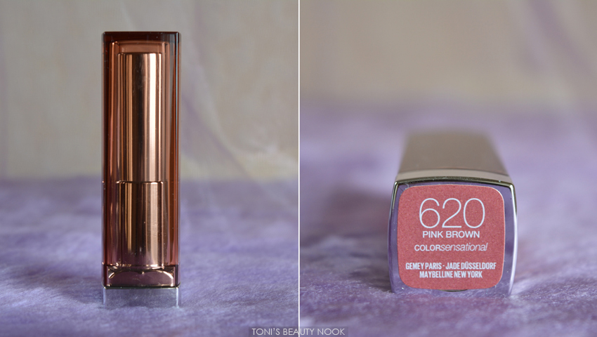 maybelline pink brown color sensational lipstick