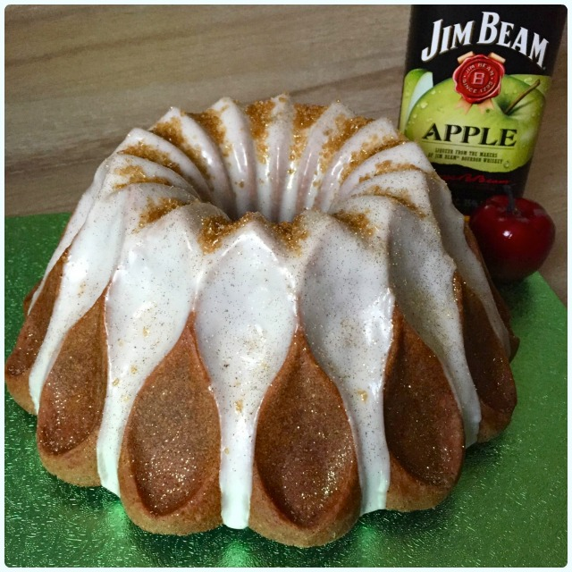 Apple and Bourbon Bundt Cake