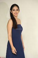 Radhika Mehrotra in sleevless Strap less Blue Gown At Prema Entha Madhuram Priyuraalu Antha Katinam Movie Interview ~  Exclusive 091.JPG
