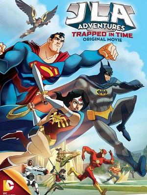 JLA Adventures Trapped in Time (2014) จัสติซ ลีก หยุดแผนย้อนเวลายึดโลก