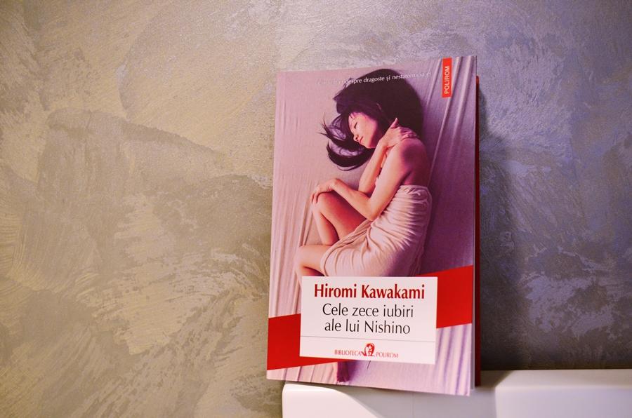 coperta carte cele zece iubiri ale lui nishino hiromi kawakami