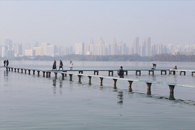 走進東湖,武漢最美的城市倒影|東湖棧道