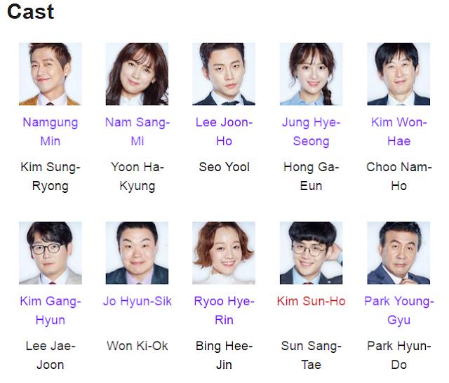Chief Kim Korean Drama Cast