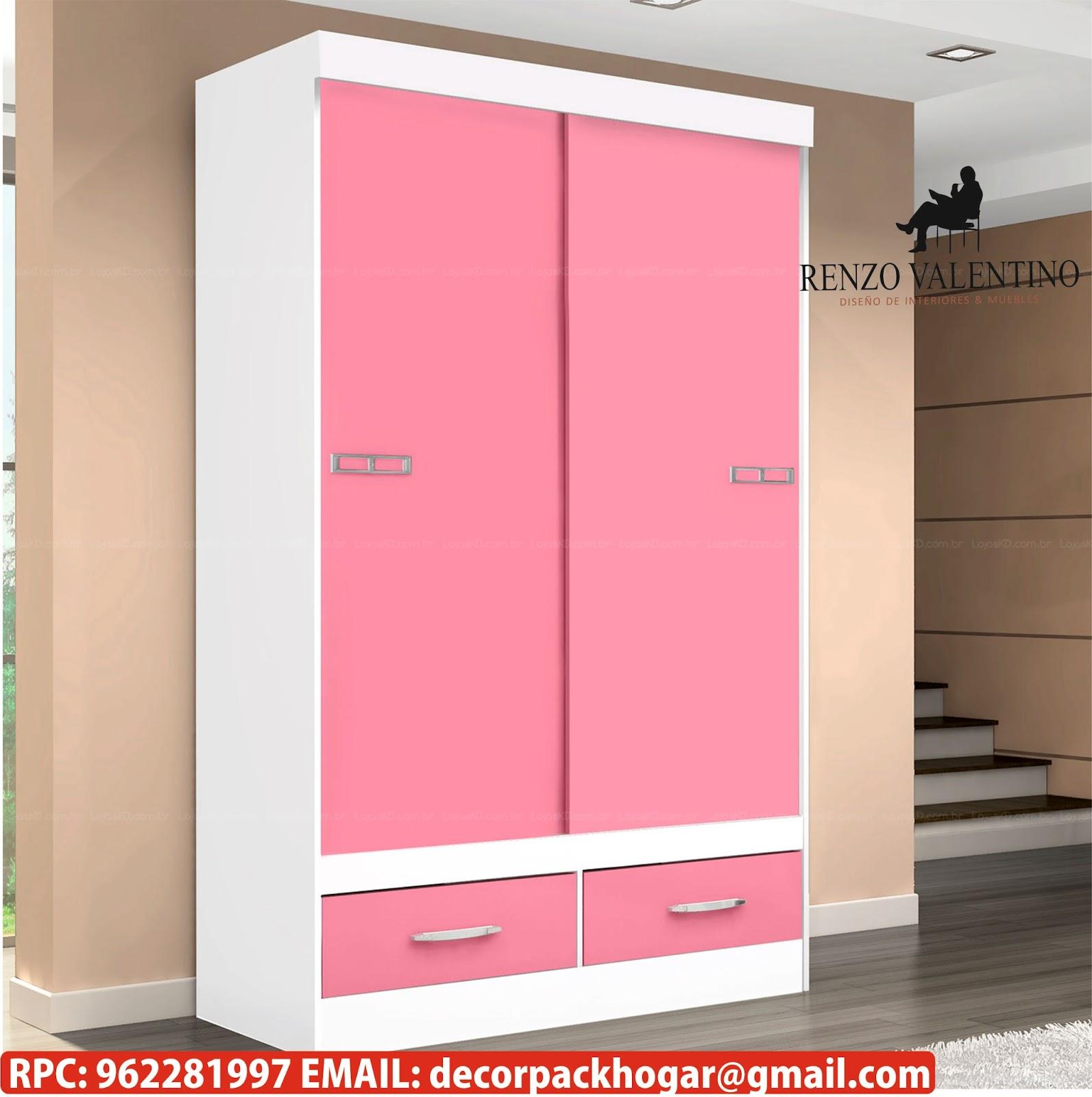Dise os fabricacion de closet cocina y muebles de oficina for Muebles cocina 50 cm ancho