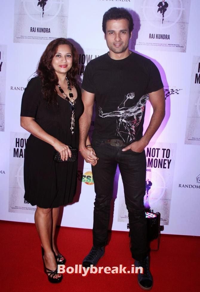 Rohit Roy and Mansi Joshi, Shilpa Shetty - How not to make Money Bash
