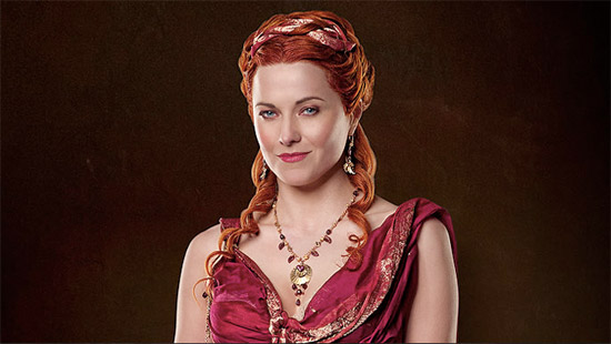 Watch Spartacus Vengeance Online   Lucy Lawless as LucretiaLucy Lawless Lucretia Spartacus