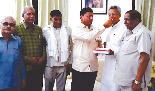 Dr. S.L. of Faridabad Sharma became Chairman of the Labor Department