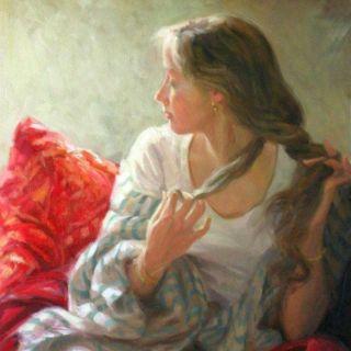 Классическая живопись. Miriam Briks