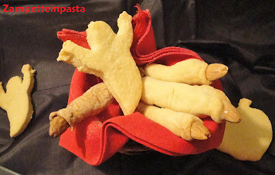 Biscotti dita di strega - Ricetta per Halloween
