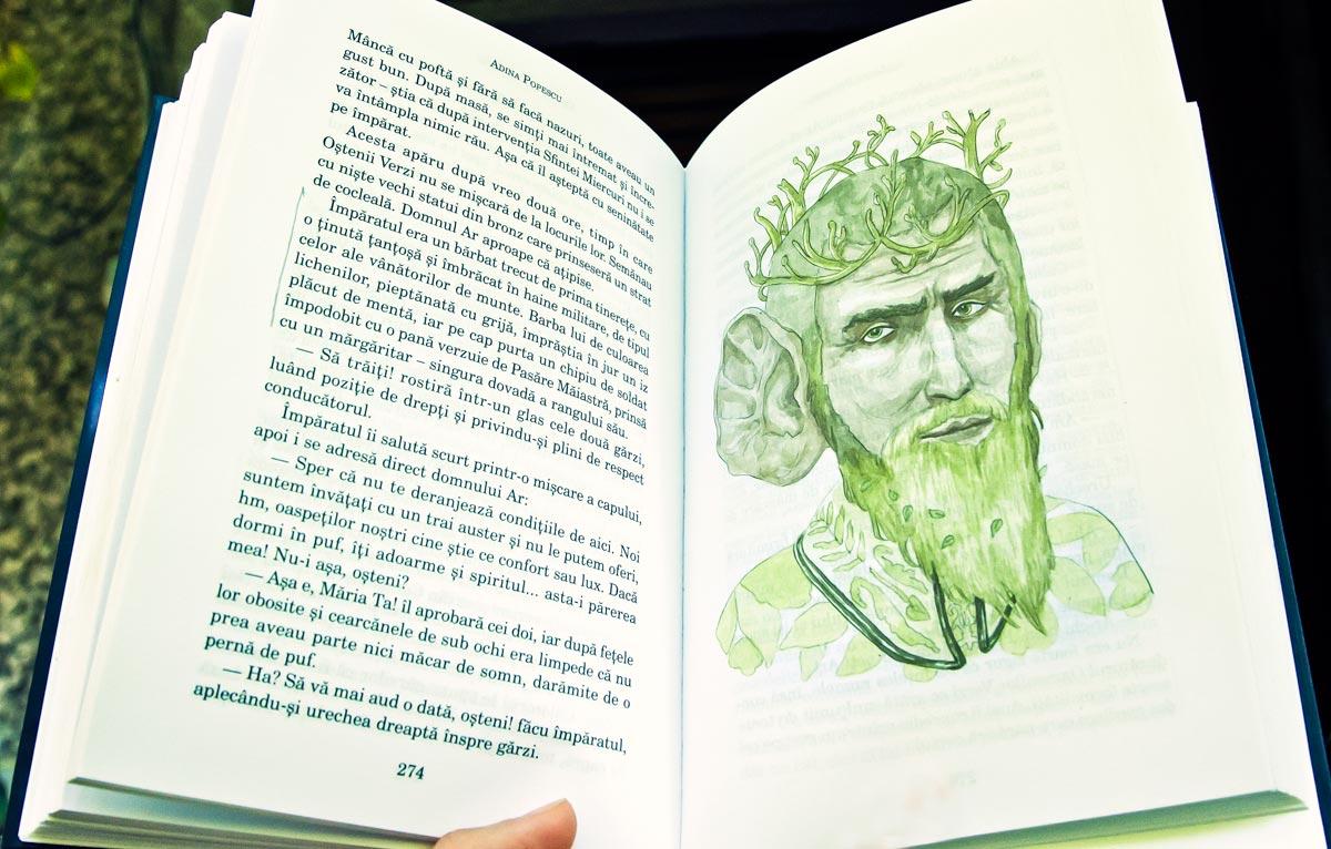 Pagini din Cartea Pricoliciului, O istorie secretă a Țării Vampirilor