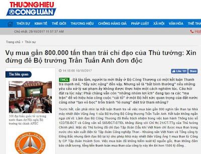 Bài báo bị gỡ, nhà báo từ chức và quyền lực của 'nhóm lợi ích Tàu'