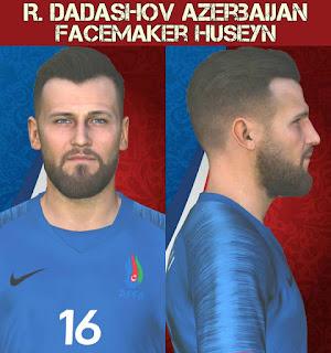 PES 2017 Faces Renat Dadashov by Facemaker Huseyn