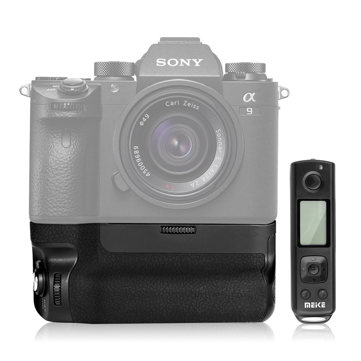 Батарейный блок Meike MK-A9 Pro с пультом для камер Sony A9, A7 III, A7R III и A7S III