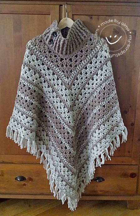 Poncho No 3 Simply Made By Alma