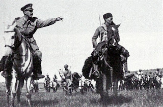 Guillet in action on the battlefield in 1940