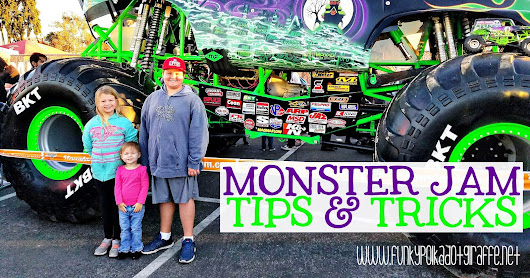 Five Awesome Monster Jam Tips and Tricks #MonsterJam