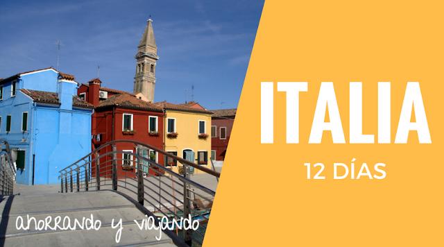 tour de 12 días por el norte de Italia