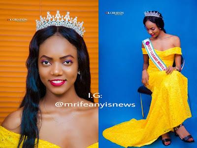EXCLUSIVE: Most Elegant Model Nigeria Beauty Queen, Vivian Kosi looking Flawless in new Photos
