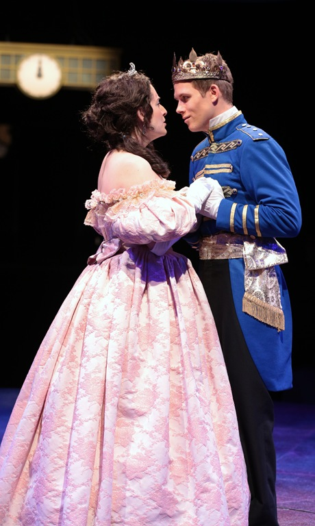 Cinderella and Prince Charming theatrical version