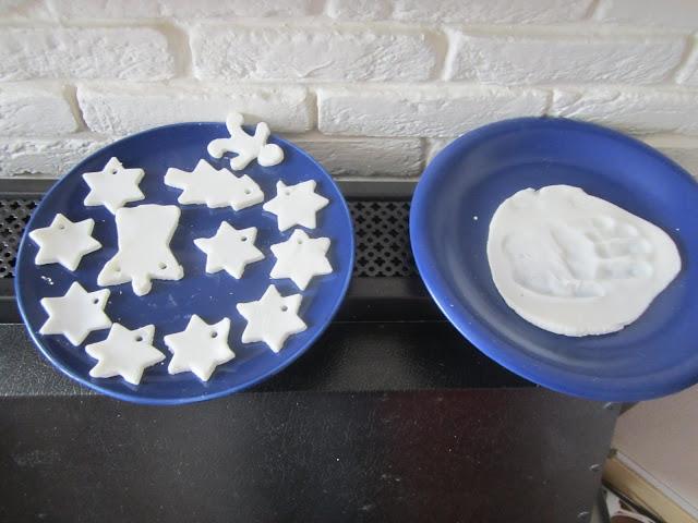 wit zoutdeeg drogen
