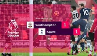 Tottenham Hotspur Ditahan Imbang Southampton 1-1