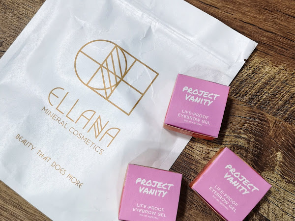 Review: Project Vanity x Ellana Cosmetics Life-Proof Eyebrow Gel