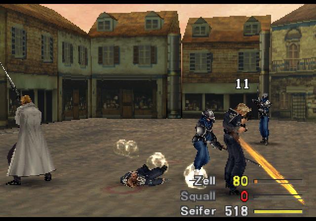Super Adventures in Gaming: Final Fantasy VIII (PSX)