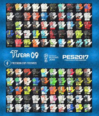 PES 2017 Glovepack v7 by Tisera09