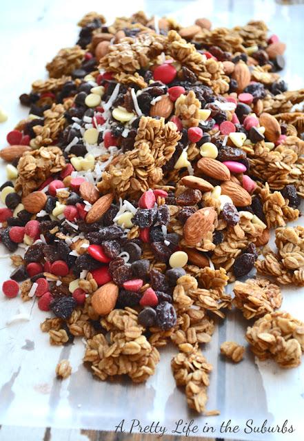 Brown Sugar Baked Granola & Trail Mix