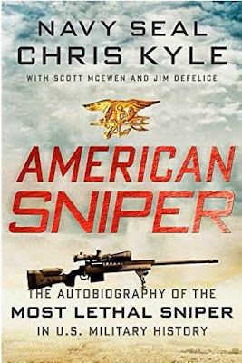 American Sniper by Chris Kyle - book cover