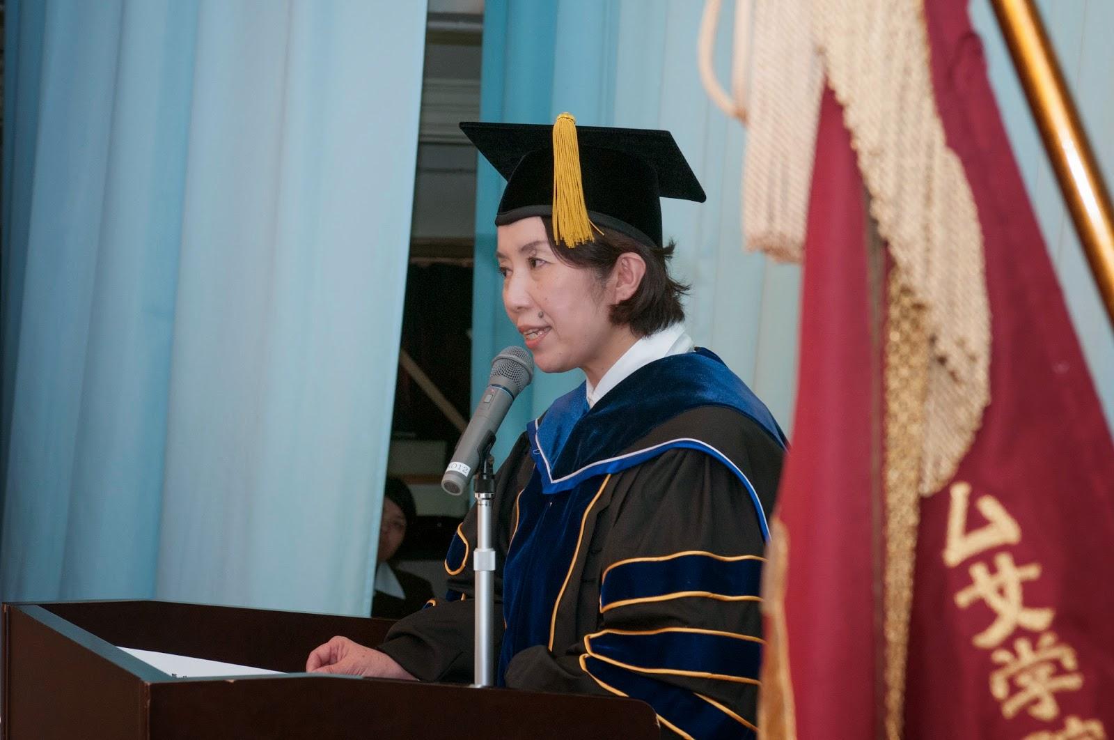 ノートルダム女学院高等学校 2014年度卒業式 式